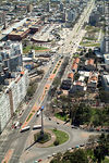 Foto #38877 - Aerial view of Tres Cruces. Artigas Boulevard.