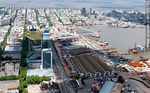 Foto #55763 - Antel complex, Aguada Park, Port of Montevideo and Old Town