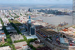 Foto #55764 - Antel complex, Aguada Park, Port of Montevideo and Old Town
