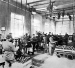 Foto #59597 - Bottling Section of Agua Salus, Minas, Lavalleja, 1909