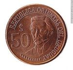 Foto #60073 - Front 50 pesos coin commemorating the
