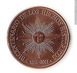 Foto #60074 - Reverse side of coin of 50 pesos to commemorate the