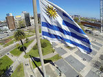Foto #60650 - Uruguayan Flag from high in Tres Cruces