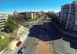 Foto #60872 - Aerial view of Bulevar Artigas facing north. Corner of Bulevar España