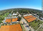 Foto #61838 - Aerial photo of the tennis courts at the Carrasco Lawn