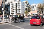 Foto #63906 - Horse-drawn carriage on Avenida Peru