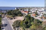 Foto #65849 - Aerial view of the rambla of Fray Bentos and Roosevelt Park