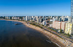 Foto #67138 - Aerial view of Playa Mansa and Rambla Williman