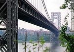 Foto #2013 - George Washington bridge between Manhattan and New Jersey