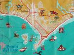 Foto #3006 - Map of Punta del Este (info purpose)